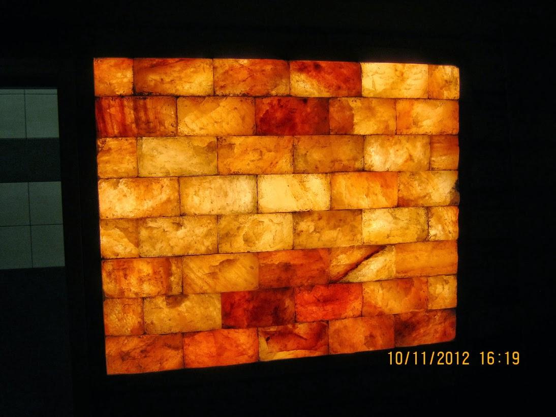 Панно из гималайской соли с подсветкой своими